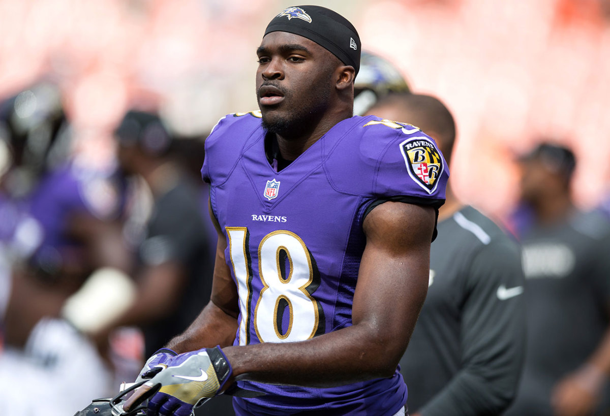 Perriman followed up his debut with two catches in a Week 2 comeback win at Cleveland.