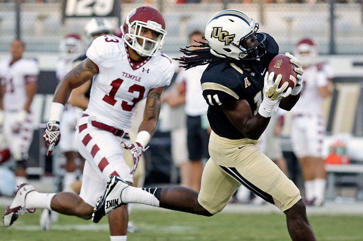 Perriman averaged 20.9 yards per catch in his senior season at UCF, just the kind of long-ball threat the Ravens were looking for.