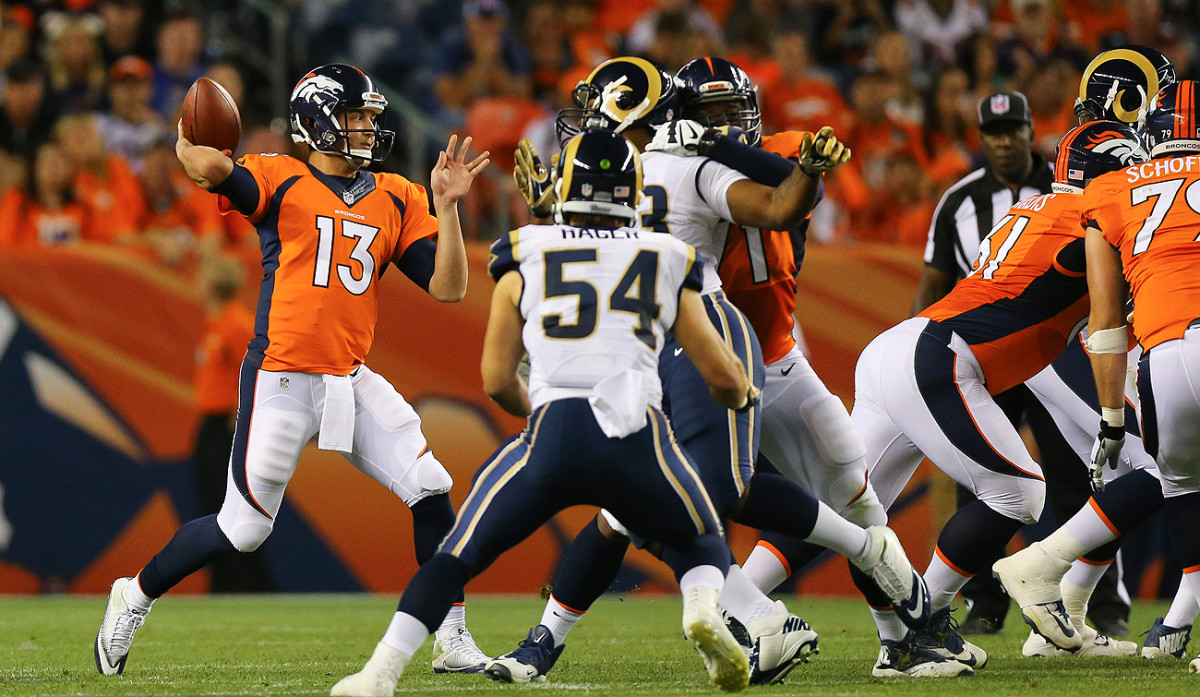 Trevor Siemian, a seventh-round afterthought in 2015, is poised to step in as the starting quarterback for the defending Super Bowl champions.
