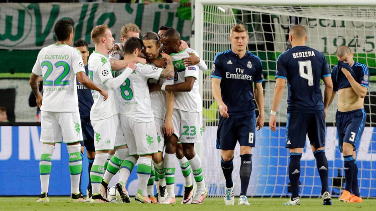 Вольфсбург реал мадрид футбол 1