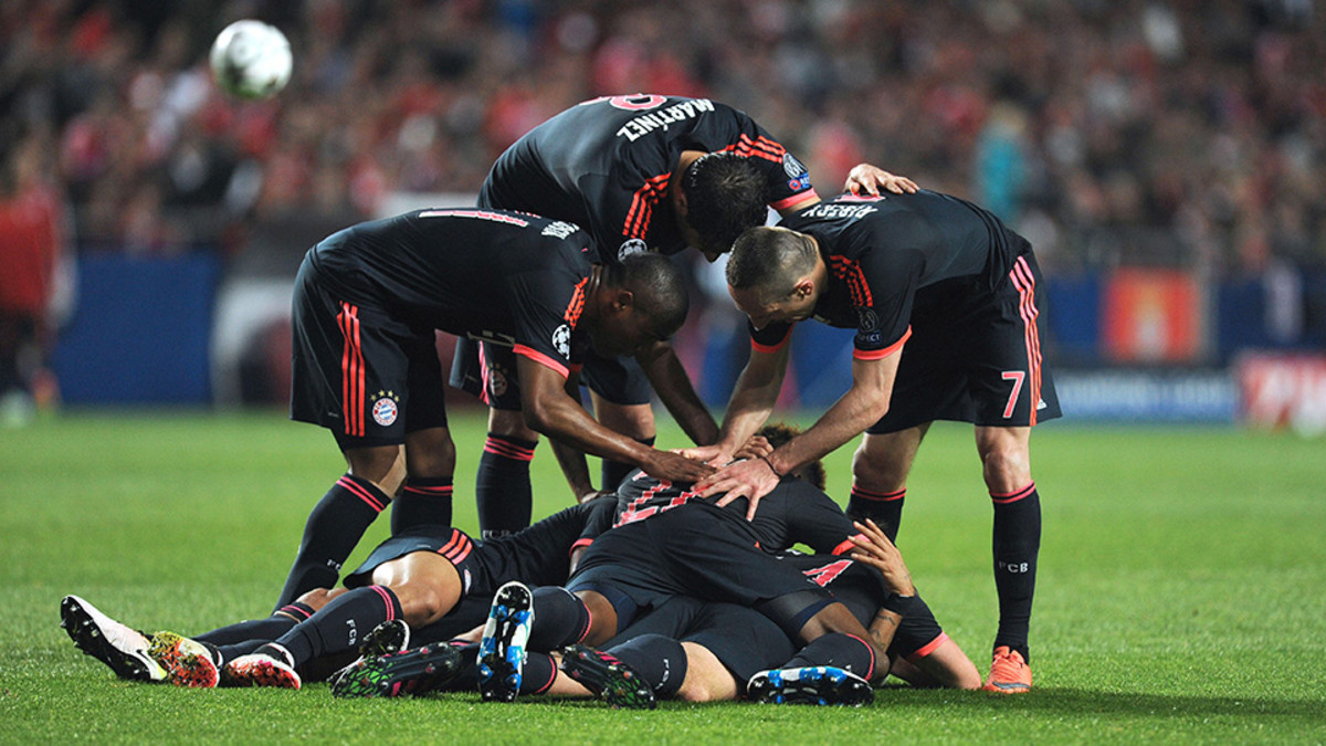 Bayern Benfica Highlights