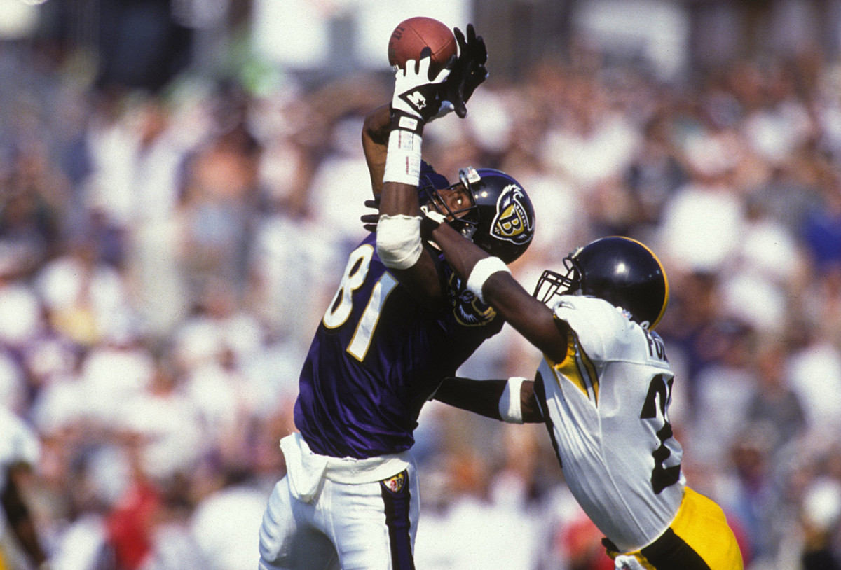 Michael Jackson had a thriller of a catch in the '97 game in Baltimore.