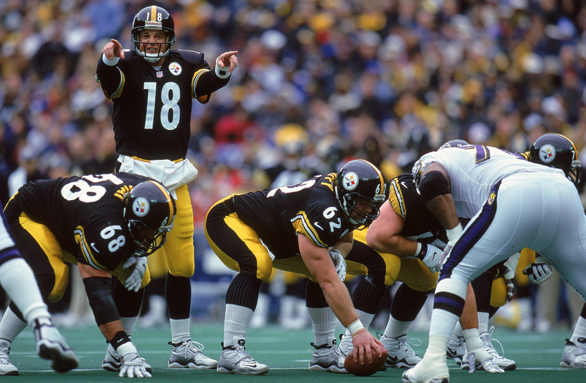 Mike Tomczak at the reins for the Steelers in '99.
