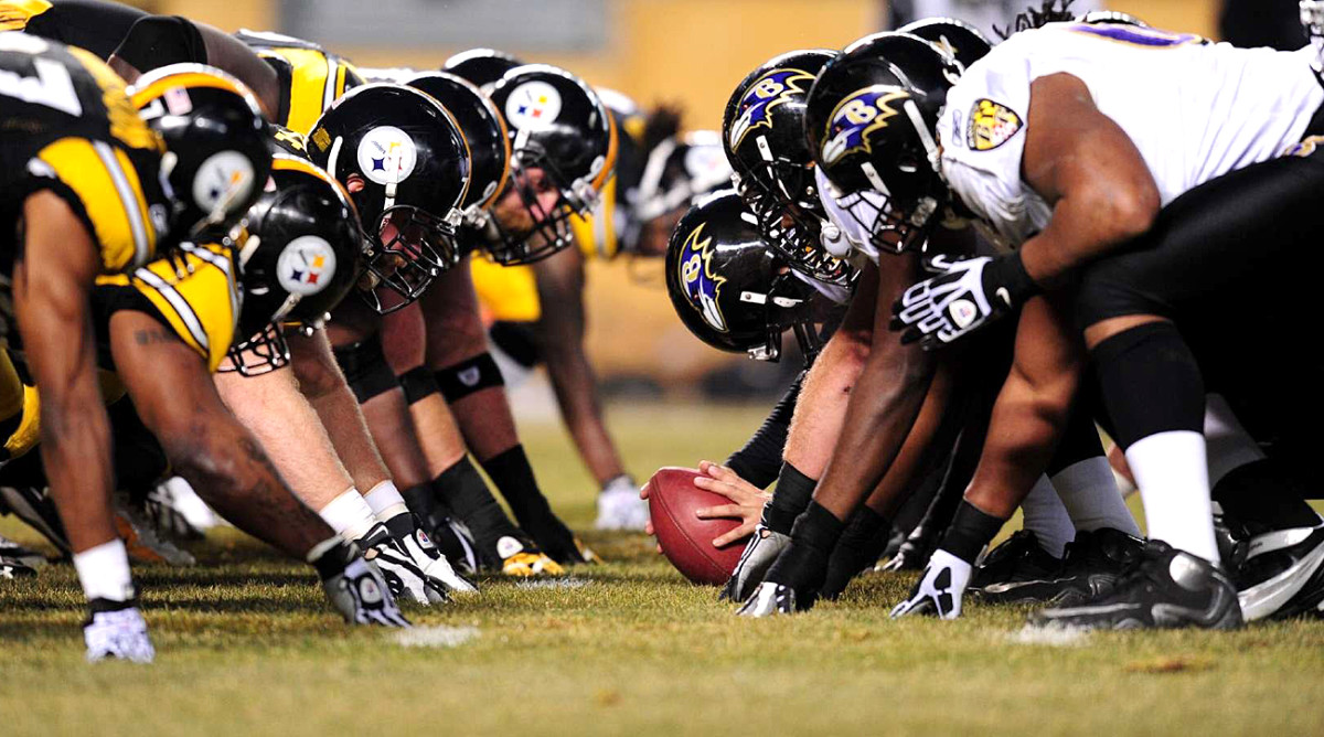 The head-to-head showdown isn't the NFL's oldest, but it may the fiercest.