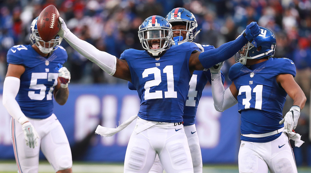 The Giants have won five straight, thanks in part to the play of ball-hawking safety Landon Collins.