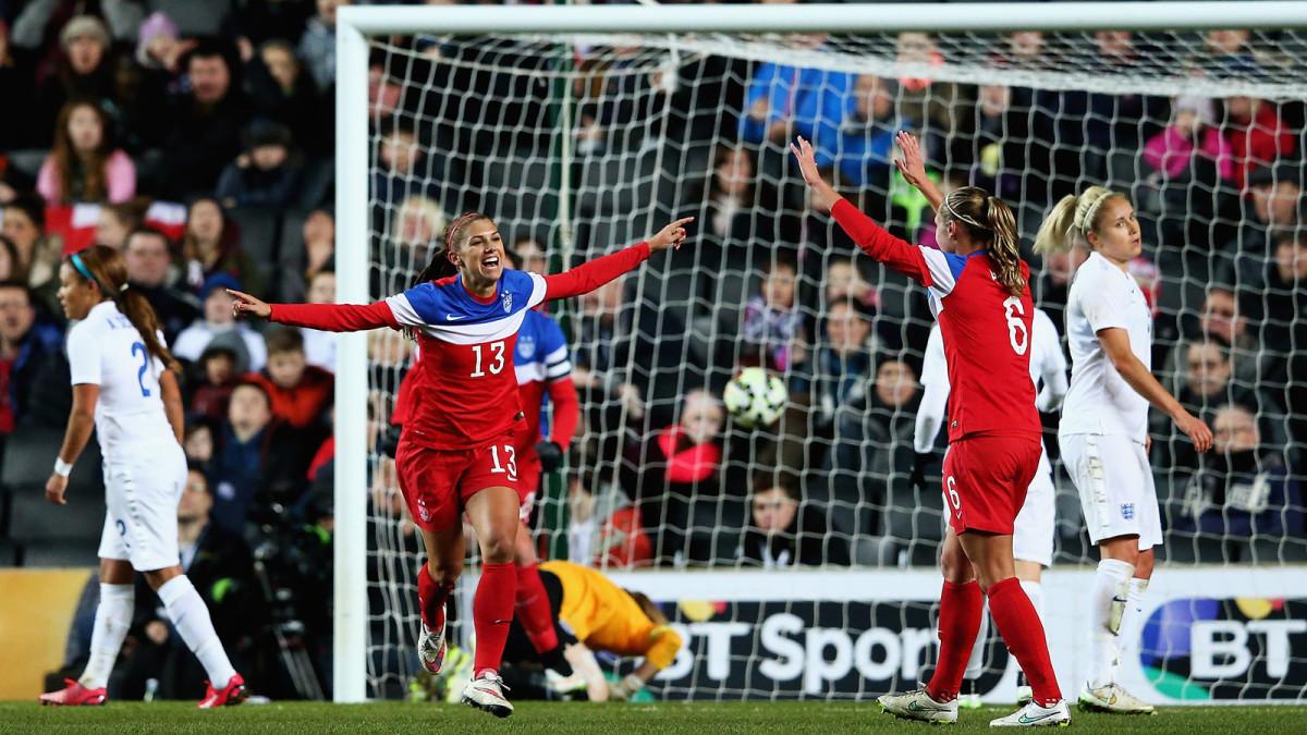 USWNT vs. England, February 13