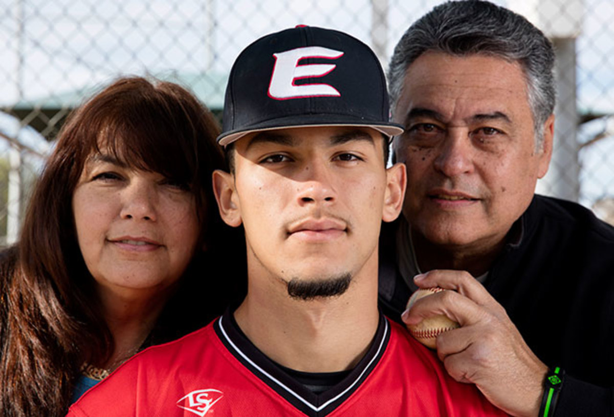 Anthony Molina threw with big-league velocity, but his parents, Olivia and Nelson, worried about the speed of his life off the field.