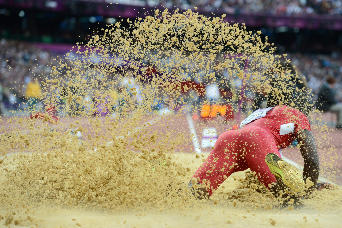 Goodwin's first Olympics ended in disappointment.