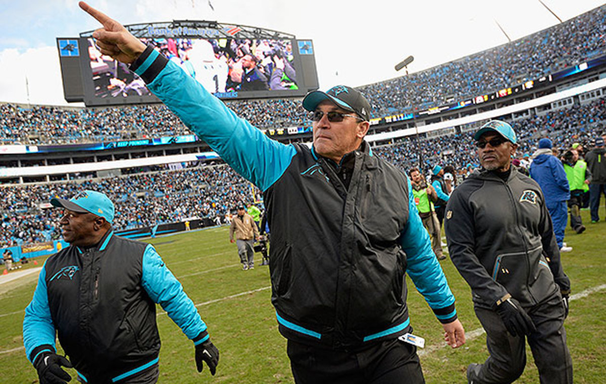 After being passed over many times, Rivera has taken advantage of his first head coaching gig.