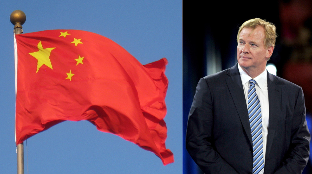 The NFL has had a couple false starts in China during Roger Goodell's tenure, but getting a game into the colossal Asian market remains a goal for the league.