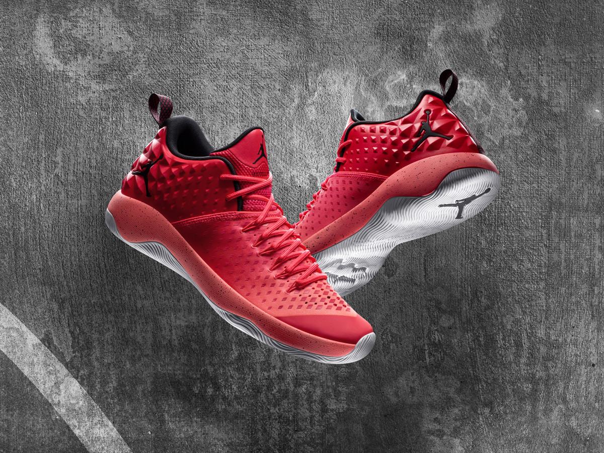 Jordan shoe and Russell Westbrook