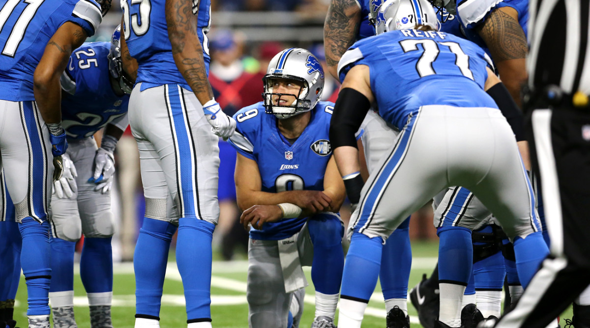 Stafford is spreading the wealth, and his passer rating of 101.2 is a career high.