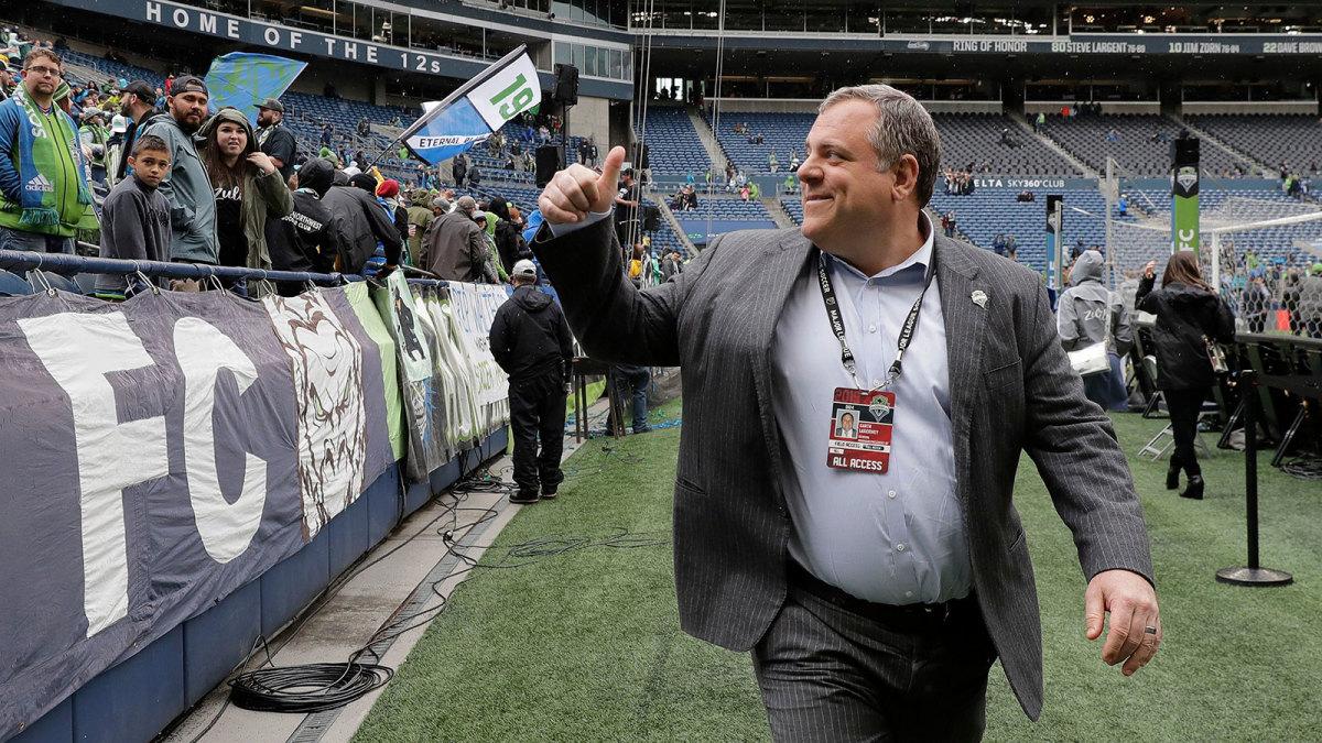 Seattle Sounders GM Garth Lagerwey