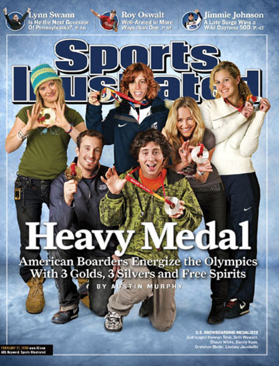 2006 Olymipic Snowboarders