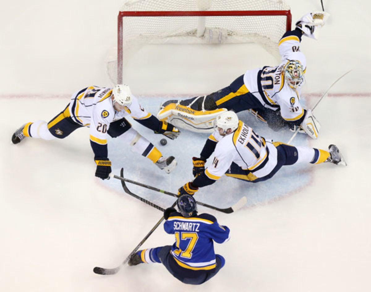 Blues vs. Predators :: Getty Images