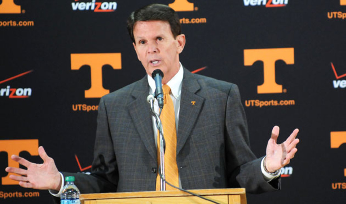 """Tennessee AD Dave Hart says that the Lady Vols logo won't disappear entirely, but that he wants to """"celebrate the future."""""""