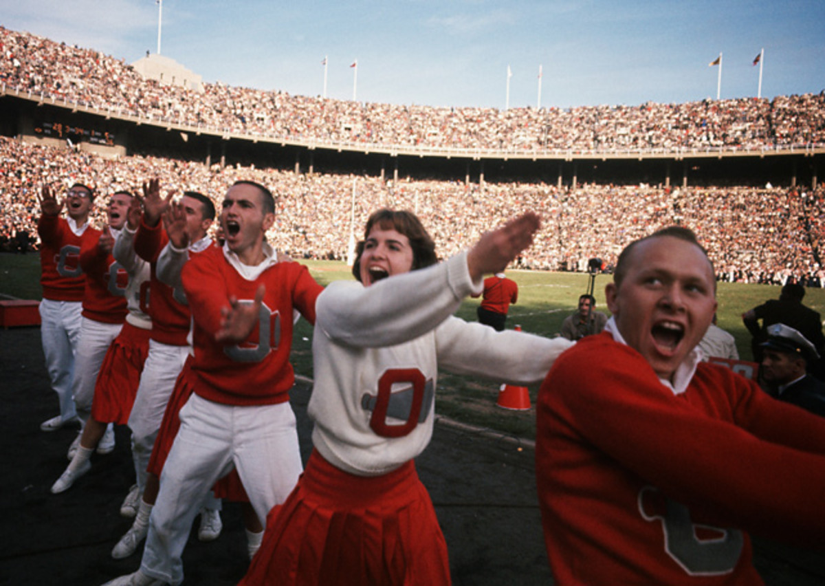 Ohio State Cheerleaders
