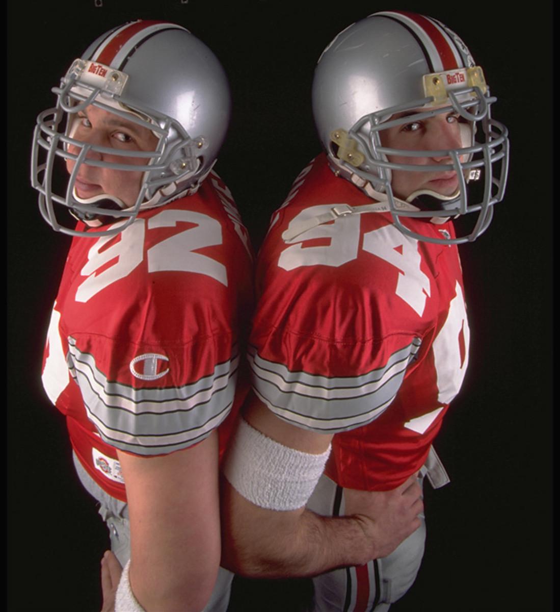 Matt Finkes and Mike Vrabel