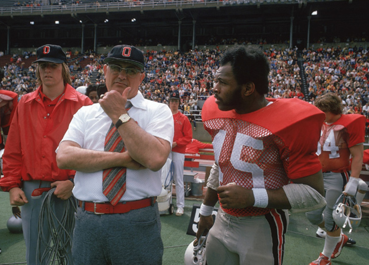Archie Griffin and Woody Hayes