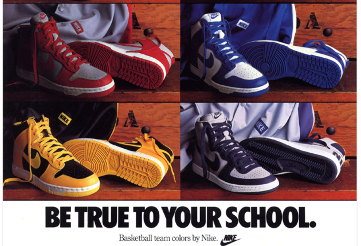 The Nike Dunk's 30 year history of embracing color Sports