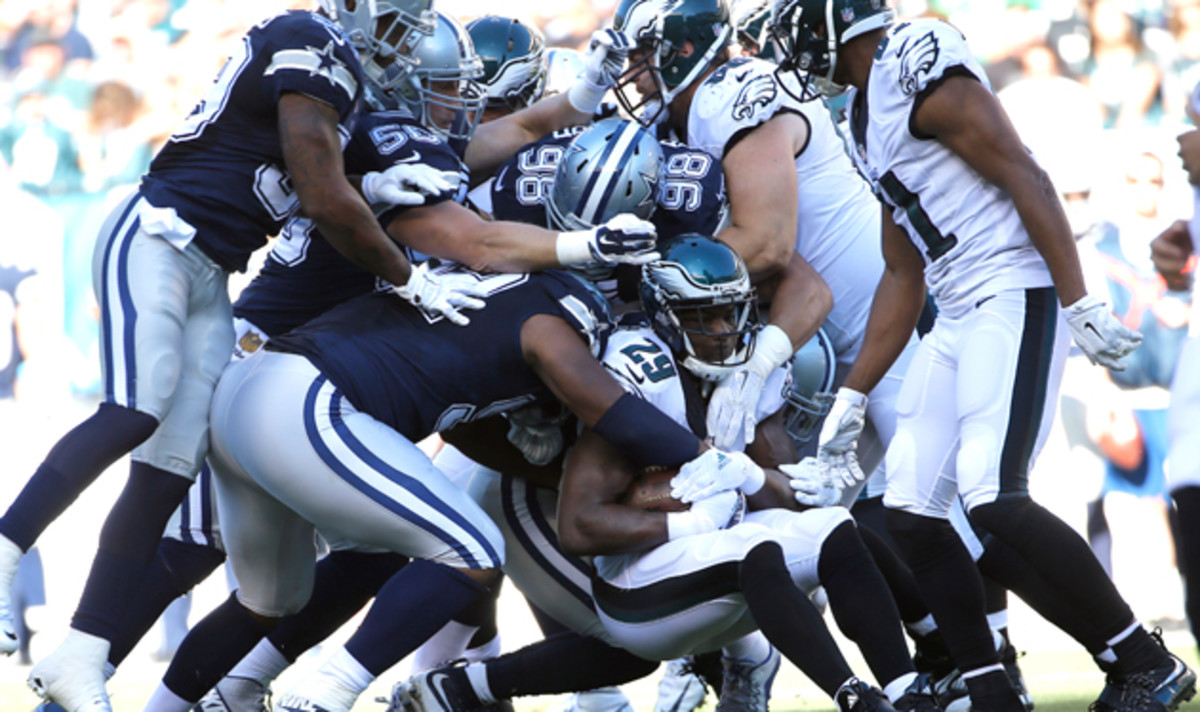 DeMarco Murray is losing the numbers game in a major way.