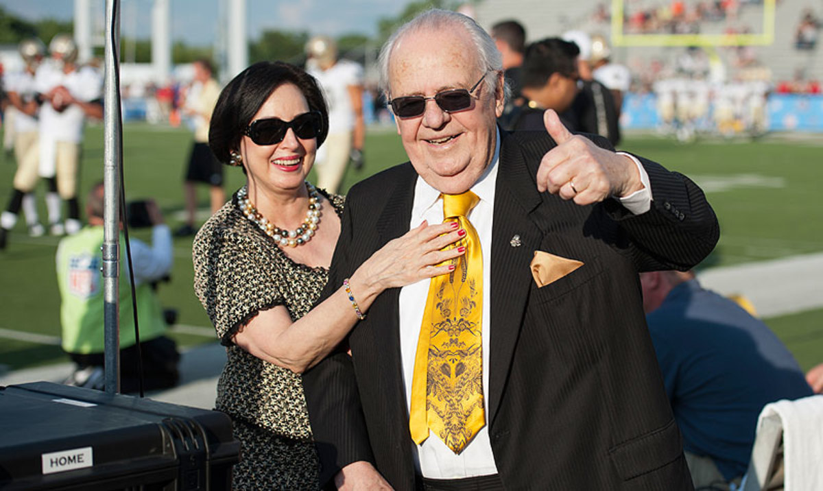 Unflattering details of the private lives of Saints owner Tom Benson and wife Gayle were revealed in a recent lawsuit. (Jason Miller/Getty Images)