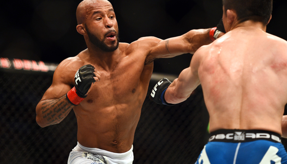 UFC 186: Johnson defeats Horiguchi, struggles to win over fan base