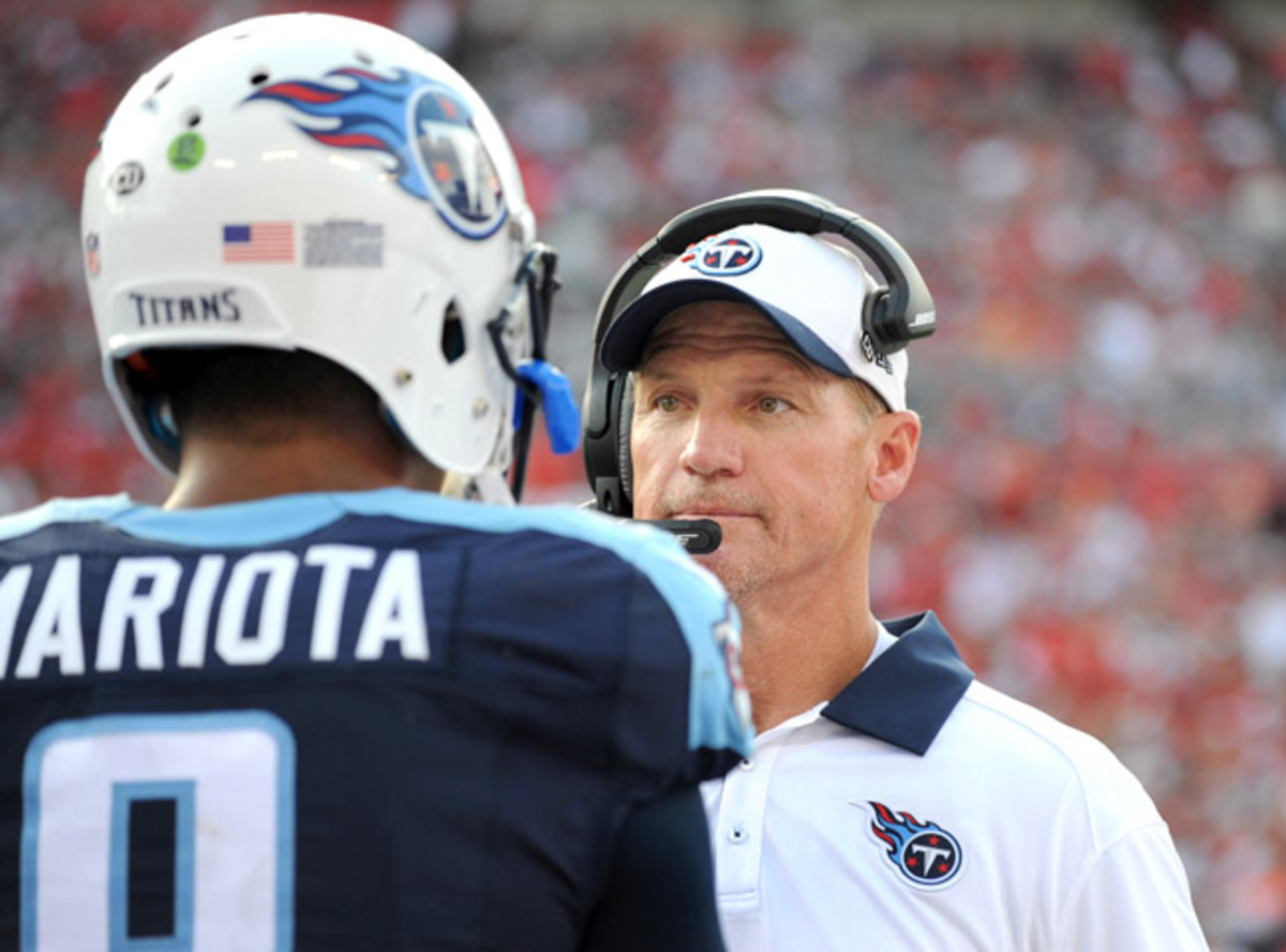 Despite some promising early returns from Marcus Mariota, Whisenhunt ran out of time.