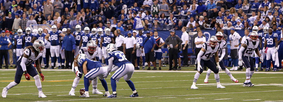 Not even the Colts players apparently were up on the nuances of alignment rules.