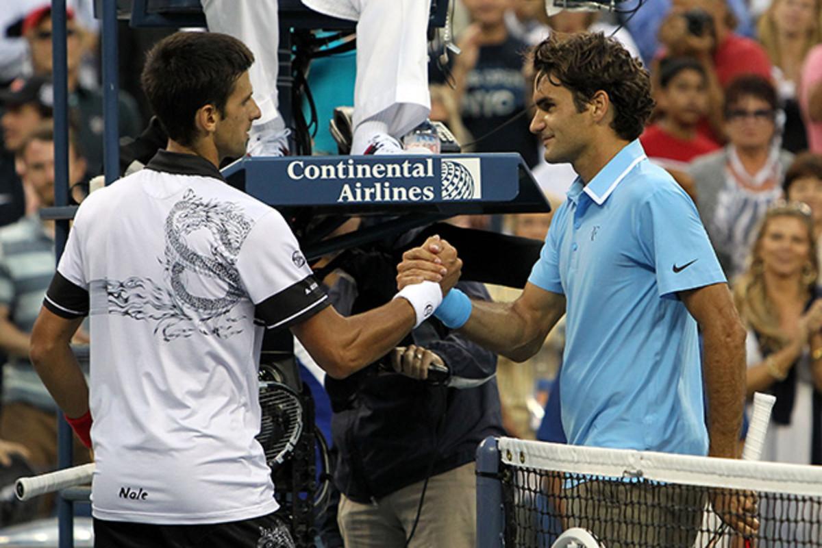 Novak Djokovic vs Roger Federer head to head at the US Open 2015 ...