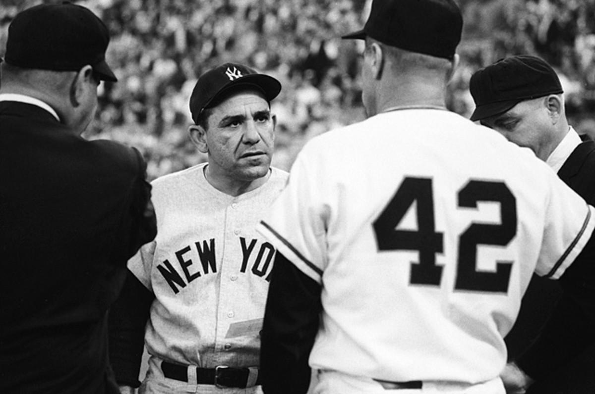 Yogi Berra and Hank Bauer
