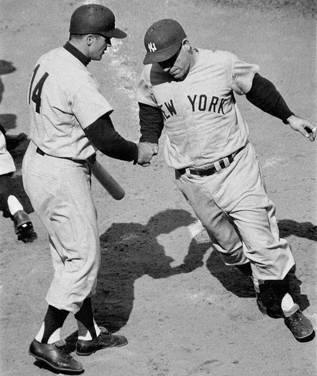 Yogi Berra and Bill Skowron