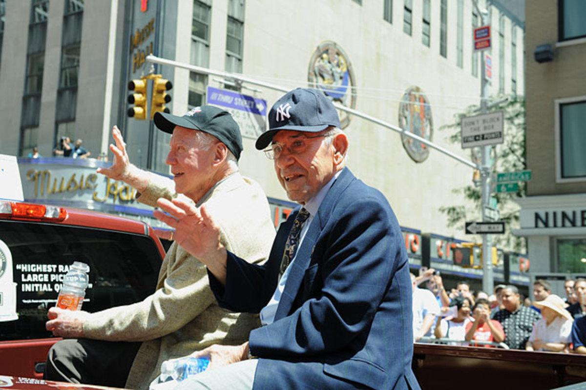 Yogi Berra and Whitey Ford