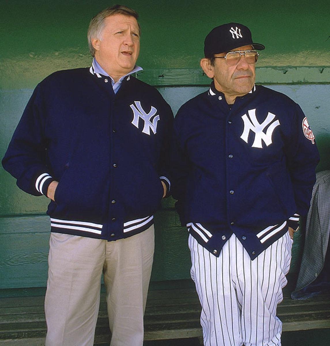 Yogi Berra and <br> George Steinbrenner