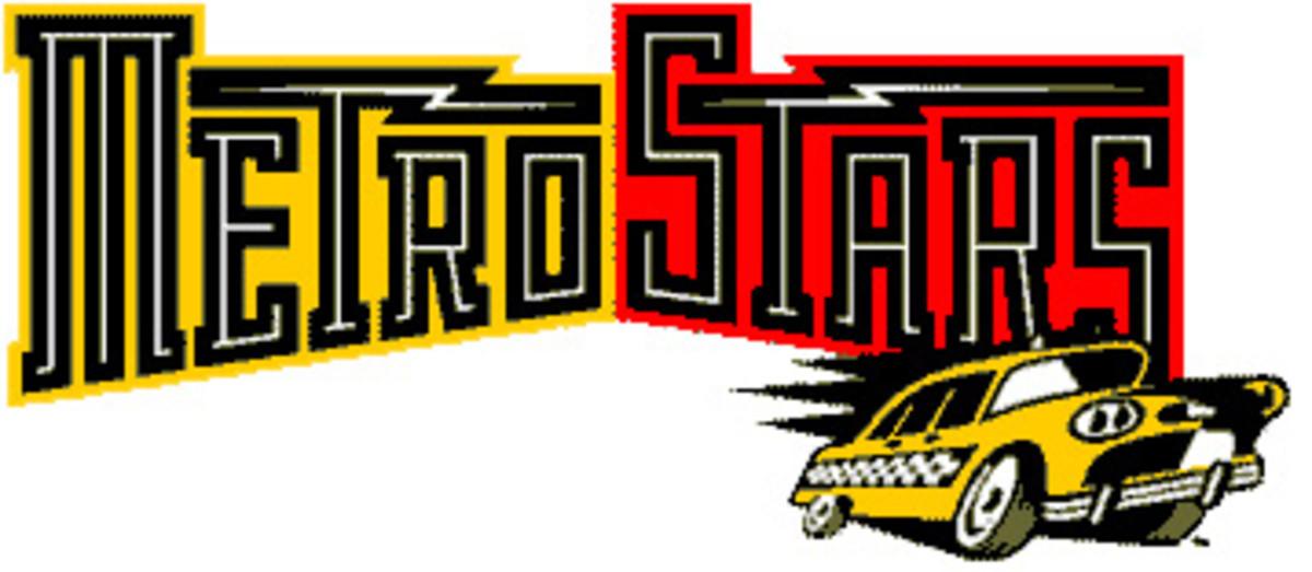 An alternate original MetroStars logo.