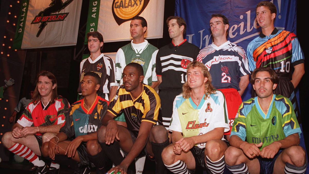 MLS Original teams jersey unveil