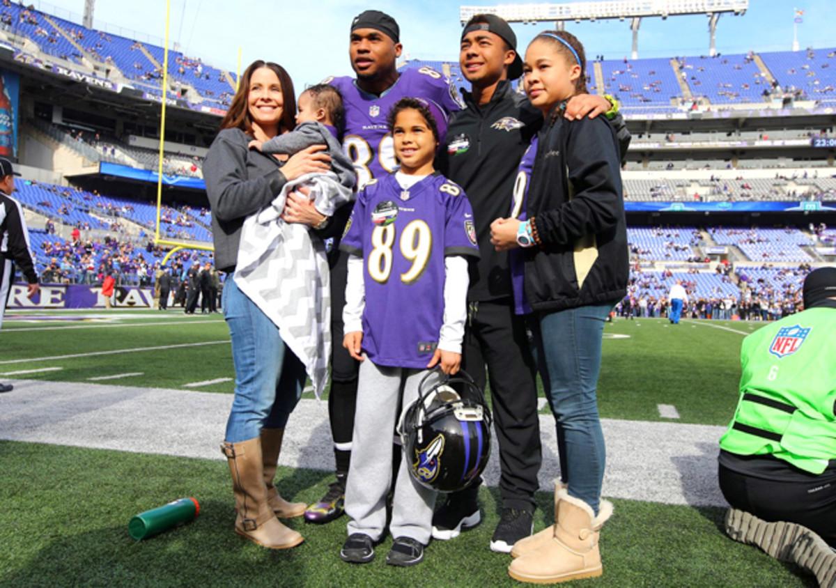 The Smith family. (Simon Bruty/Sports Illustrated)