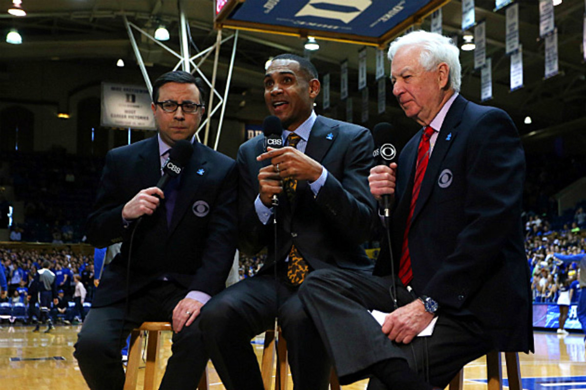 Bill Raftery, Grant Hill and Ian Eagle