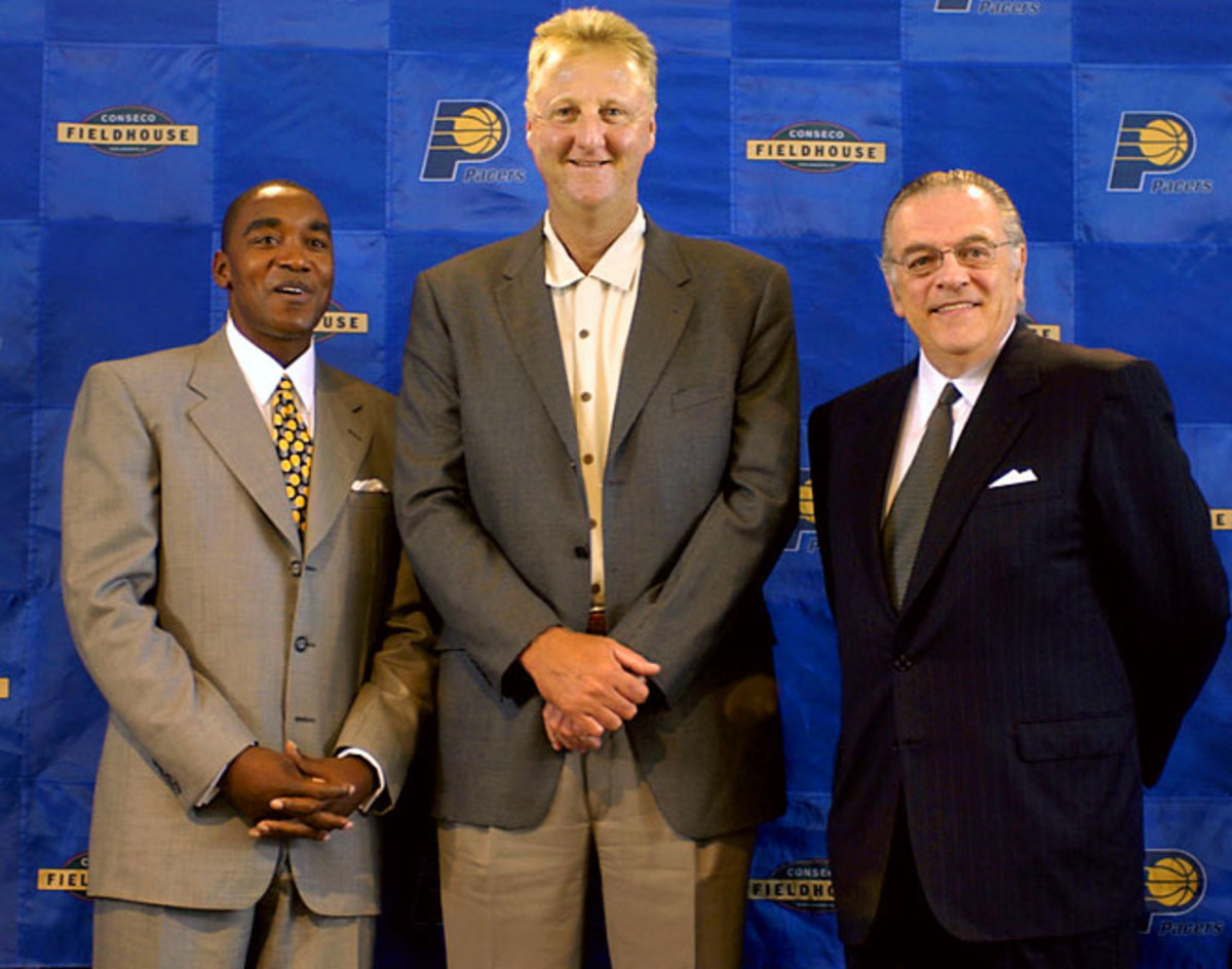 Larry Bird, Isiah Thomas and Donnie Walsh