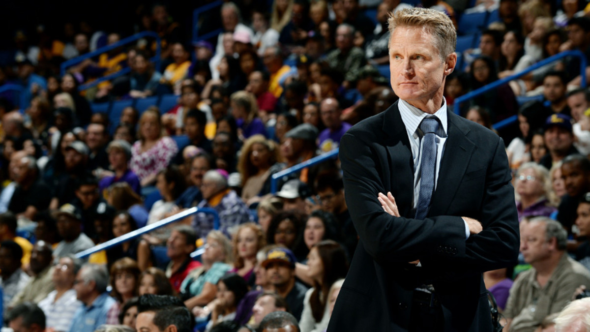 Golden State Warriors Steve Kerr Possibly Out Until