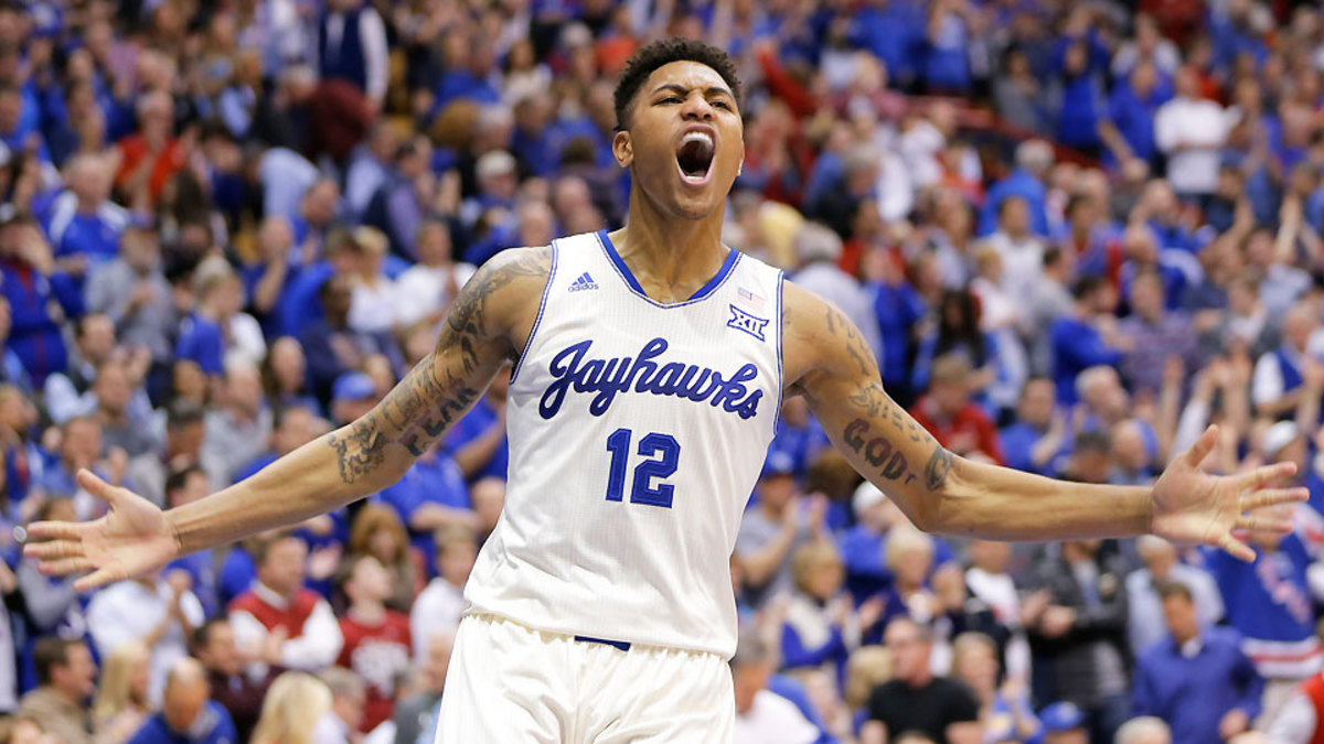 Kansas Kelly Oubre Jr Has Slowly Become A Star Freshman Sports Illustrated