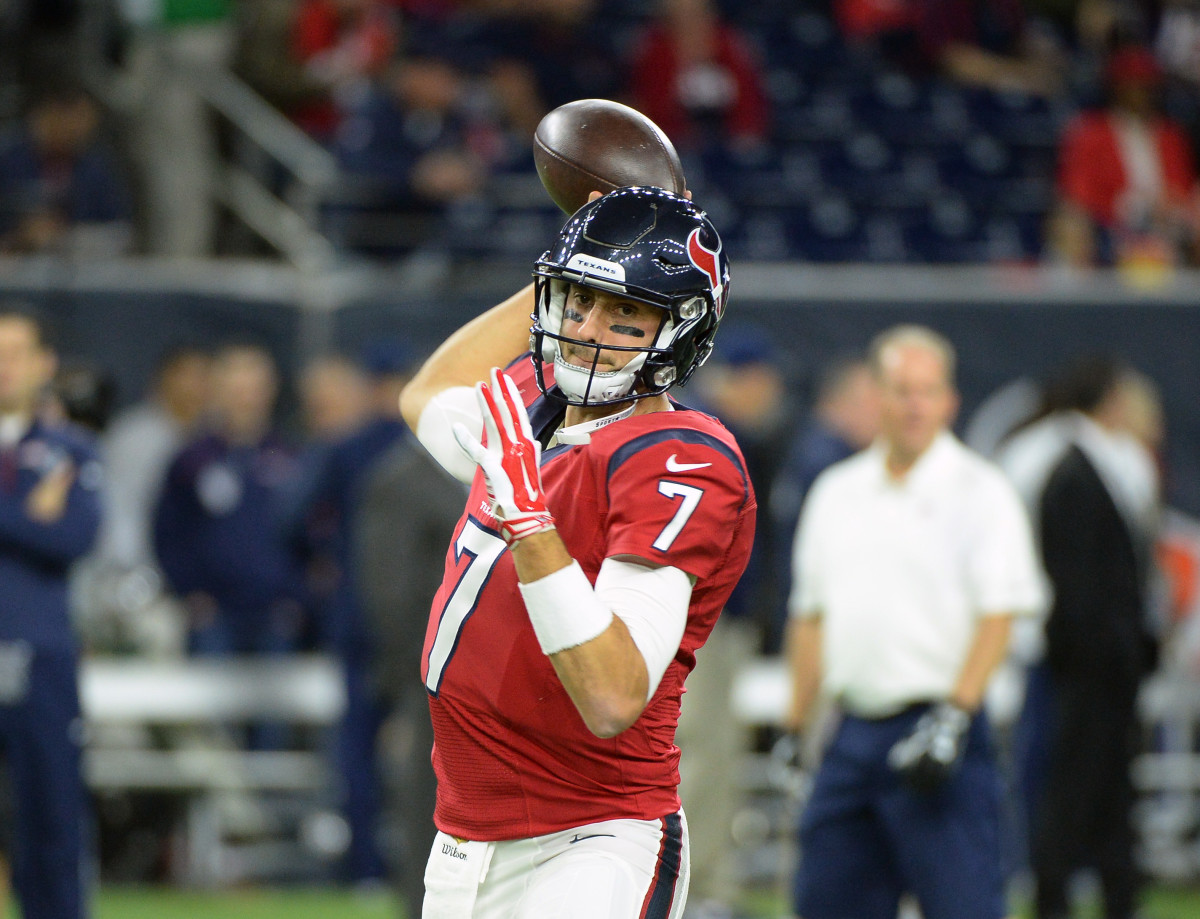 Houston Texans: Brian Hoyer passes concussion test starts Week 17 ...