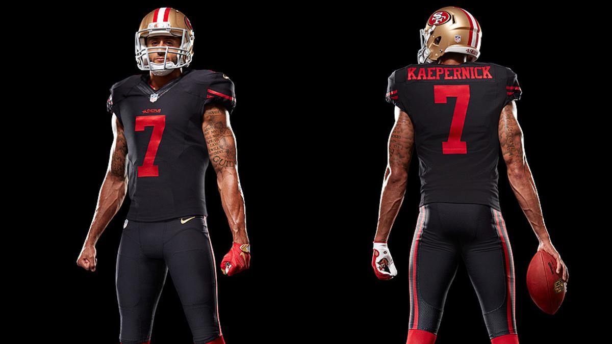 San Francisco 49ers uniform: Team unveils new black alternate ...