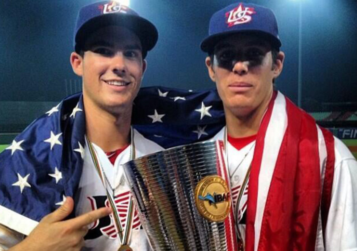 Jacob Nix (left) and Brady Aiken were both drafted by the Astros in 2014.