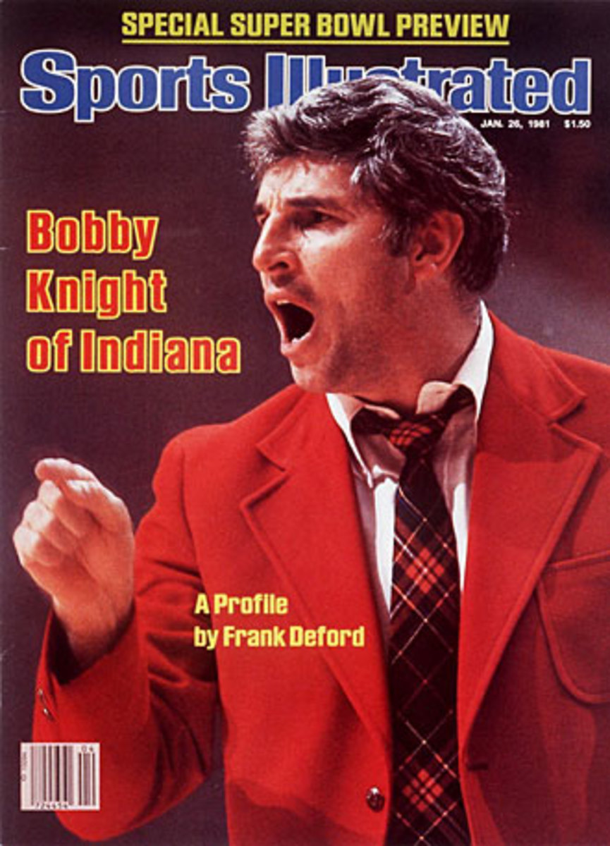 Bobby Knight 1981 cover