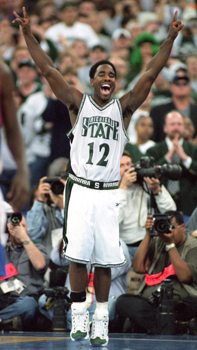 Mateen Cleaves, a fellow product of Flint, helped mentor Morris in high school.