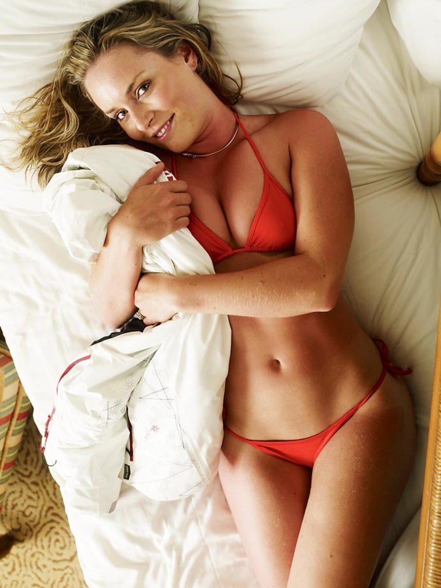 Sex lindsey vonn Lindsey Vonn