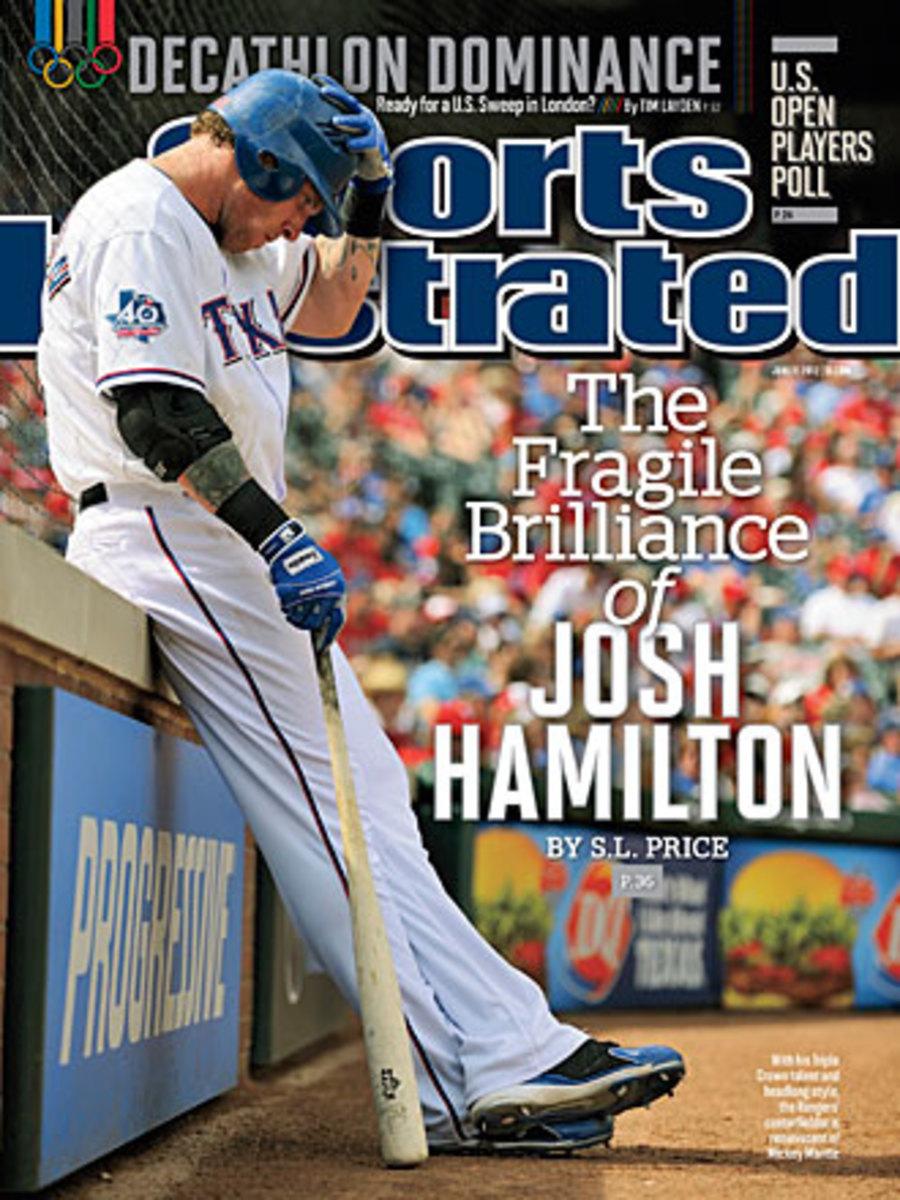 Josh Hamilton 2012 cover