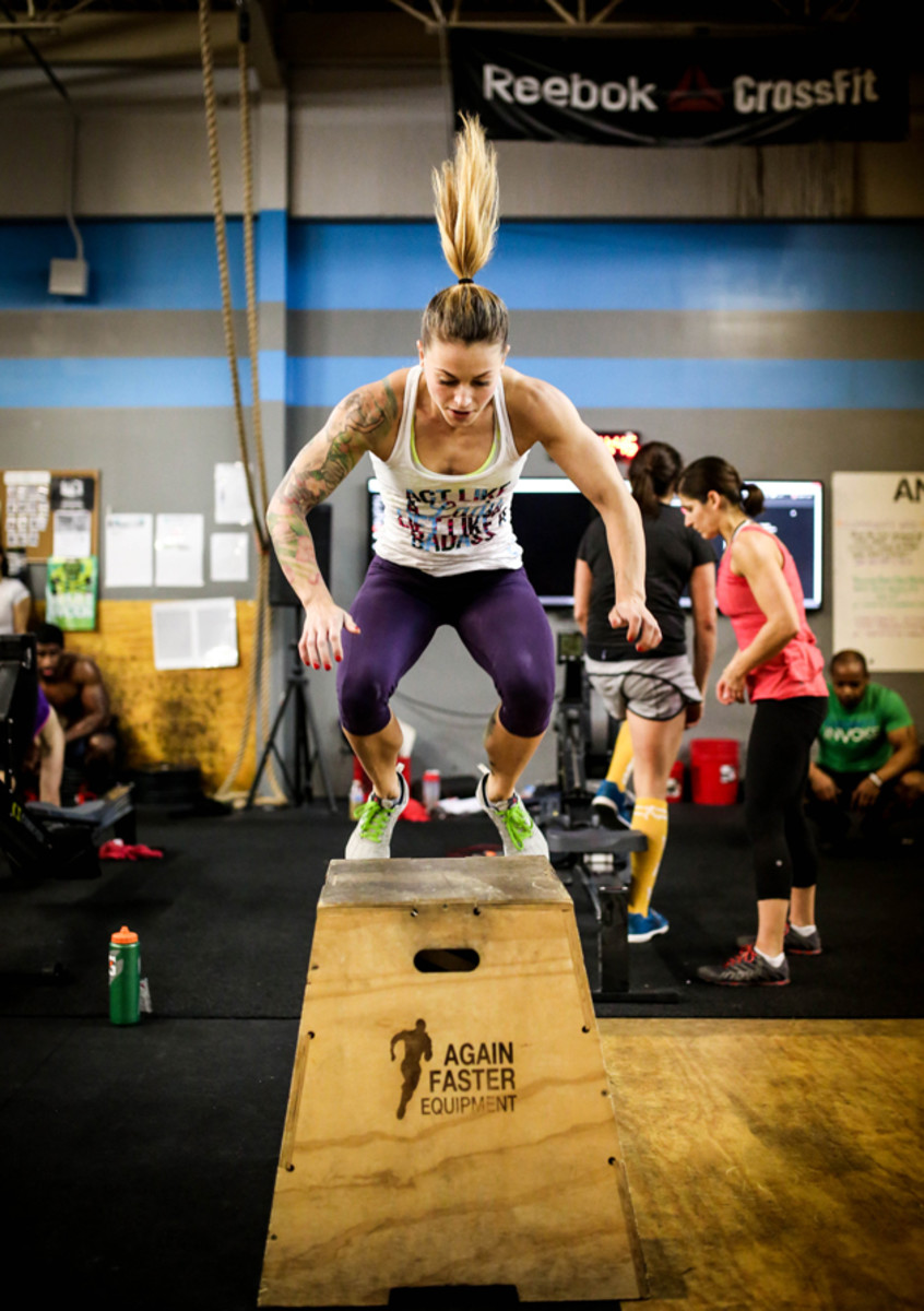 From A Nascar Pit To Crossfit Christmas Abbot Totally Rocks It Sports Illustrated