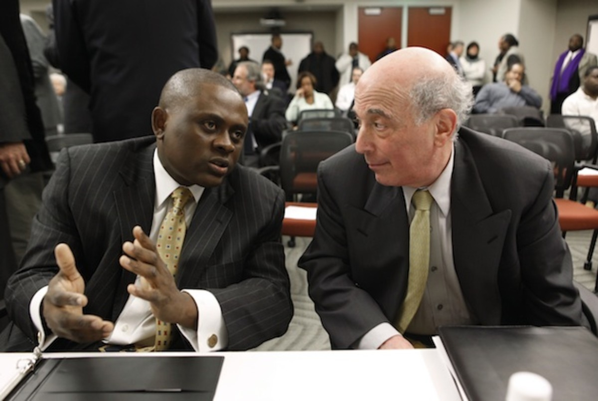 Dr. Bennet Omalu (l) has been at the forefront of those seeking reform in the NFL's approach towards concussions.